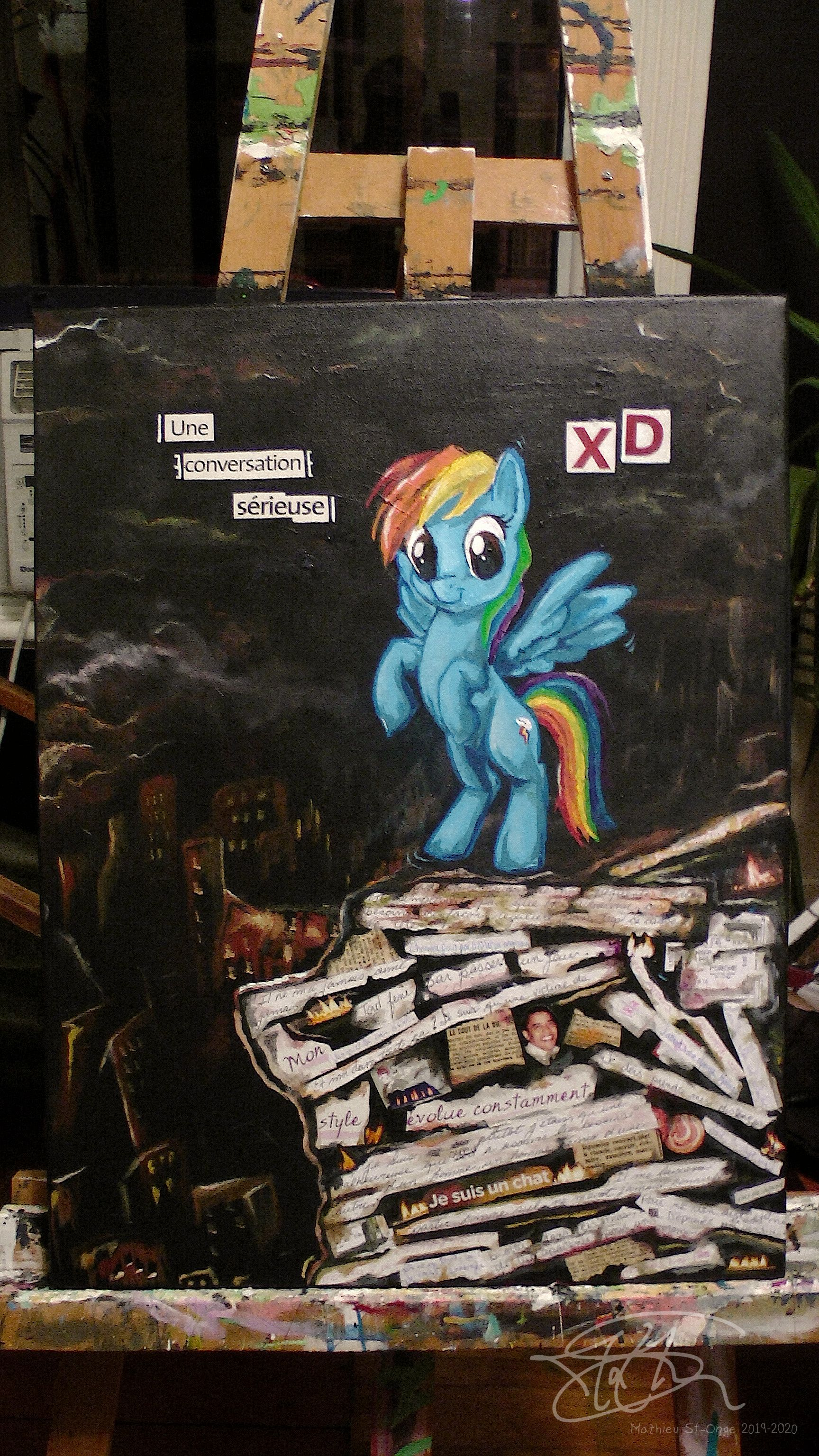 Rainbow Dash XD